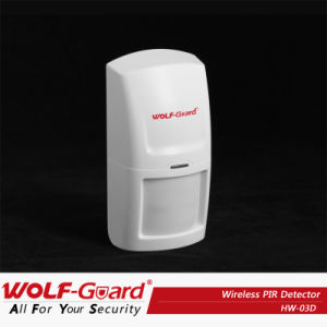 Wolf-Guard Wireless Home Alarm System PIR Motion Detector with CE Certificate pictures & photos