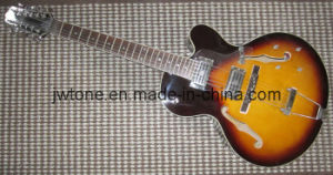 12 String Thick Hollow Body Custom Quality Electric Guitar pictures & photos
