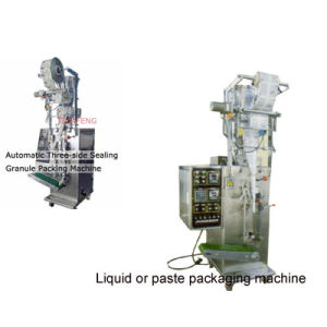 Automatic Three-Side Sealing Powder/Granule/Tablet Packing Machine pictures & photos