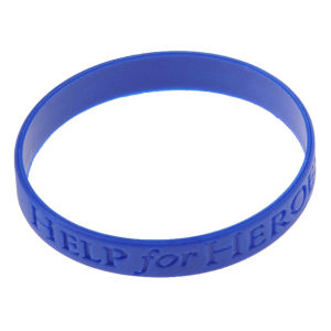 Personalized Wholesale Bulk Cheap Logo Debossed Silicone Event Bracelet pictures & photos