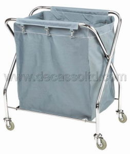 X-Shaped Stainless Steel Linen Trolley (DD32) pictures & photos