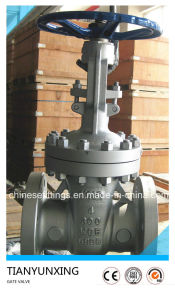 A216 Wcb API 6D Z41 Cast Carbon Steel Gate Valves pictures & photos