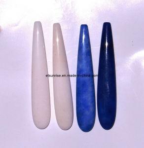 Semi Precious Stone Fashion Natural Gemstone Crystal Drop Pendant <Esb01649> pictures & photos