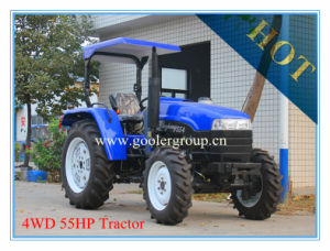 High Clearance 4WD 55HP Agricultural Tractor (LZ554) pictures & photos