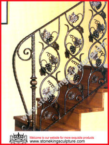 Wrought Iron Staircase Railing/ Handrail/ Baluster (SK-5259) pictures & photos