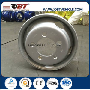 22.5*8.25 22.5*9.0 Truck Steel Aluminum Wheel Rim for Heavy Truck pictures & photos