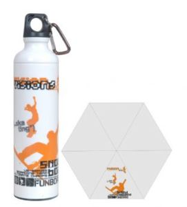 Water Bottle Umbrella (JX-U405-3)