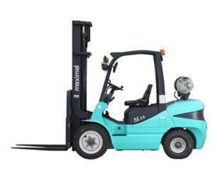 2.5t Lpg Forklift with Nissan K25 Engine