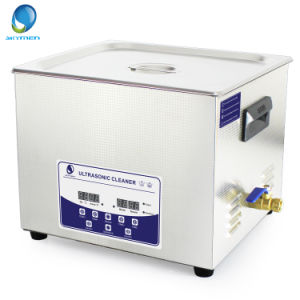 Fast Remove Dirt with Heating Gun Magazine Ultrasonic Cleaning Machine pictures & photos