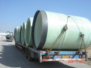 FRP Jacking Pipe pictures & photos