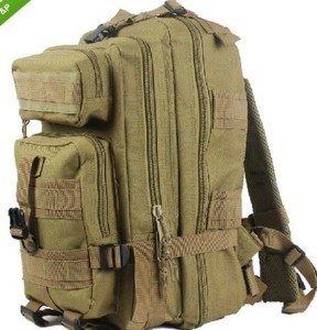 Tan Color Military Style Medium Transport Assault Pack Bag Backpack pictures & photos
