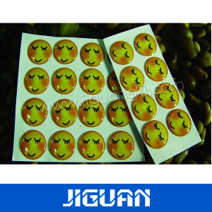 Printed Cmyk Color Crystal Epoxy Resin Dome Sticker pictures & photos