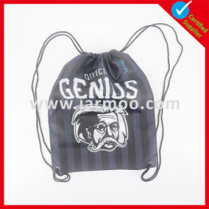 Cheap Nylon Polyester Drawstring Backpacks pictures & photos