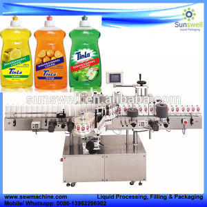 High Quality Rotary Type Bottle Hot Glue OPP Labeling Machine pictures & photos