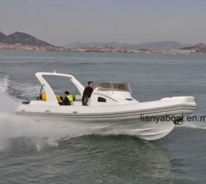 Liya 27ft 20 Person Cabin Rib Boat High Speed Boat pictures & photos