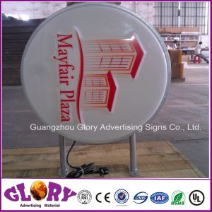 Outdoor LED Light Box Vacuum Formed Lighting Sign pictures & photos
