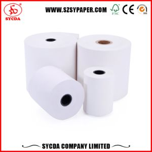 China Manufacturer Thermal Paper Roll High White Color for POS/ATM Machine pictures & photos