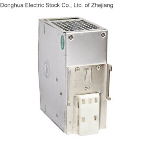 HDR-75 Single Output Industrial DIN Rail Power Supply AC 88-264VAC to DC 75W 24VDC 3.2A pictures & photos