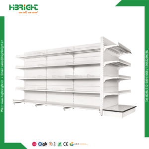 Cold Rolled Steel Single Side Wall Shelving Gondola Racks pictures & photos