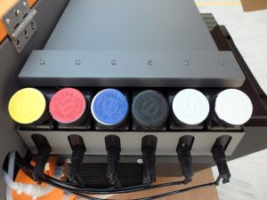Focus Industrial Level UV Printer Butterfly-Jet for Pen, Phone Case, CD, Wood. pictures & photos