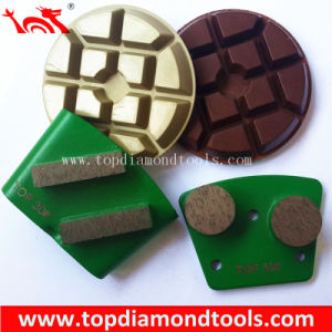 Trapezoid Diamond Grinding Shoes and Plates for Concrete Floor pictures & photos