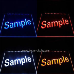 Custom Acrylic LED Display Panel pictures & photos