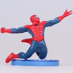 Custom Spider Man Plastic Action Figure with Base pictures & photos