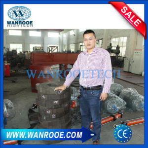 Durable Car Tire Metal Recycling Plastic Bag Double Shaft Shredder pictures & photos