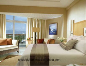 Hotel Bedding Set Decorative Bed Runner and Cushion Set pictures & photos