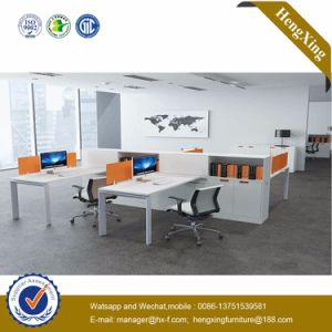 Elegant Office Table MDF Workstation Office Partition (HX-NJ5016) pictures & photos