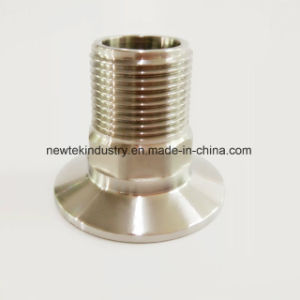 "Sanitary Hex Adapter Tri Clover Compatible X 1/2"" Male BSPT pictures & photos"