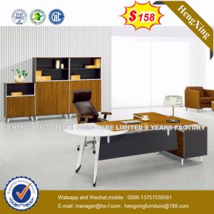 Oak Colour Elegant Design CEO Executive Office Desk (HX-8N0904) pictures & photos