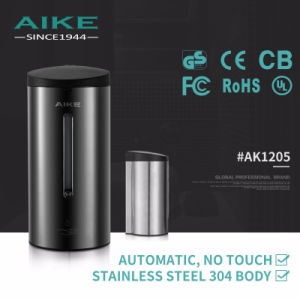 AK1205 Touch Free Toilet Accessory Commercial Stainless Steel Sensor Automatic Liquid Hand Soap Dispenser pictures & photos