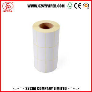 Pre-Printed Direct Thermal Paper Sticker Roll pictures & photos