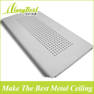 High Quality 600X1200 Aluminum Perforated Strip Ceiling Tiles pictures & photos