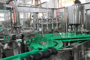 Automatic Carbonated Beverage Drink Bottle Machine of Production pictures & photos