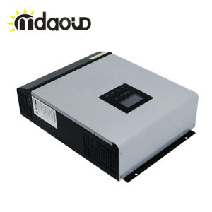 Mps Series 1kVA 24V 48V DC to 220V AC Pure Sine Wave Hybrid Inverter with MPPT Controller Inside