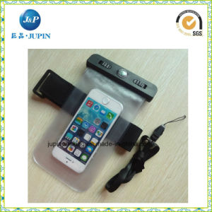 Inflatable Waterproof Mobile Phone Bag with Elastic Armband (JP-WB003) pictures & photos