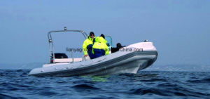 Liya 22feet Luxury Rigid Hull Inflatable Boats Rib Hull Boats pictures & photos