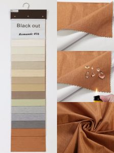 Hot Coating Blackout Roller Blind Curtain Fabric pictures & photos
