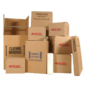 Brown Corrugated Packaging Box for Shipping and Moving pictures & photos