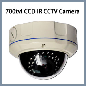 700tvl 960h Security IR Vandal-Proof Dome CCTV CCD Camera pictures & photos