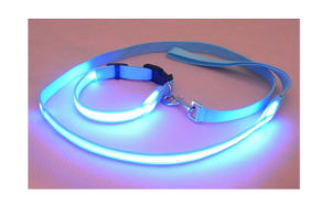 Promotional Super Lighted Flashing LED Dog Leash pictures & photos