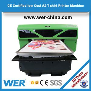 Ce Approved Wer-China A2 Size 4880 Direct to Garment Printer pictures & photos
