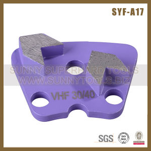 China Diamond Floor Grinding Concrete Plate (SYYH-01) pictures & photos