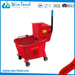 Side-Press Single Magic Mop Bucket Wringer with Various Color pictures & photos