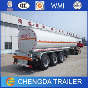 Truck Trailer 3 Axle Oil Fuel Tank Trailer for Sale pictures & photos