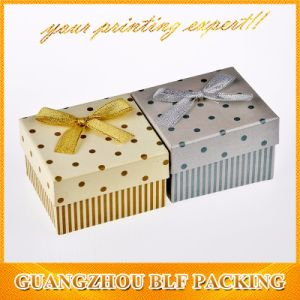 Hot Sale Black Cardboard Paper Jewelry Box (BLF-GB002) pictures & photos