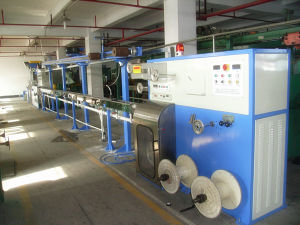 Chemical Foaming Cable Extrusion Production Line pictures & photos