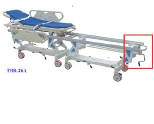 Manual Transfer Stretcher Trolly (THR-26A) pictures & photos
